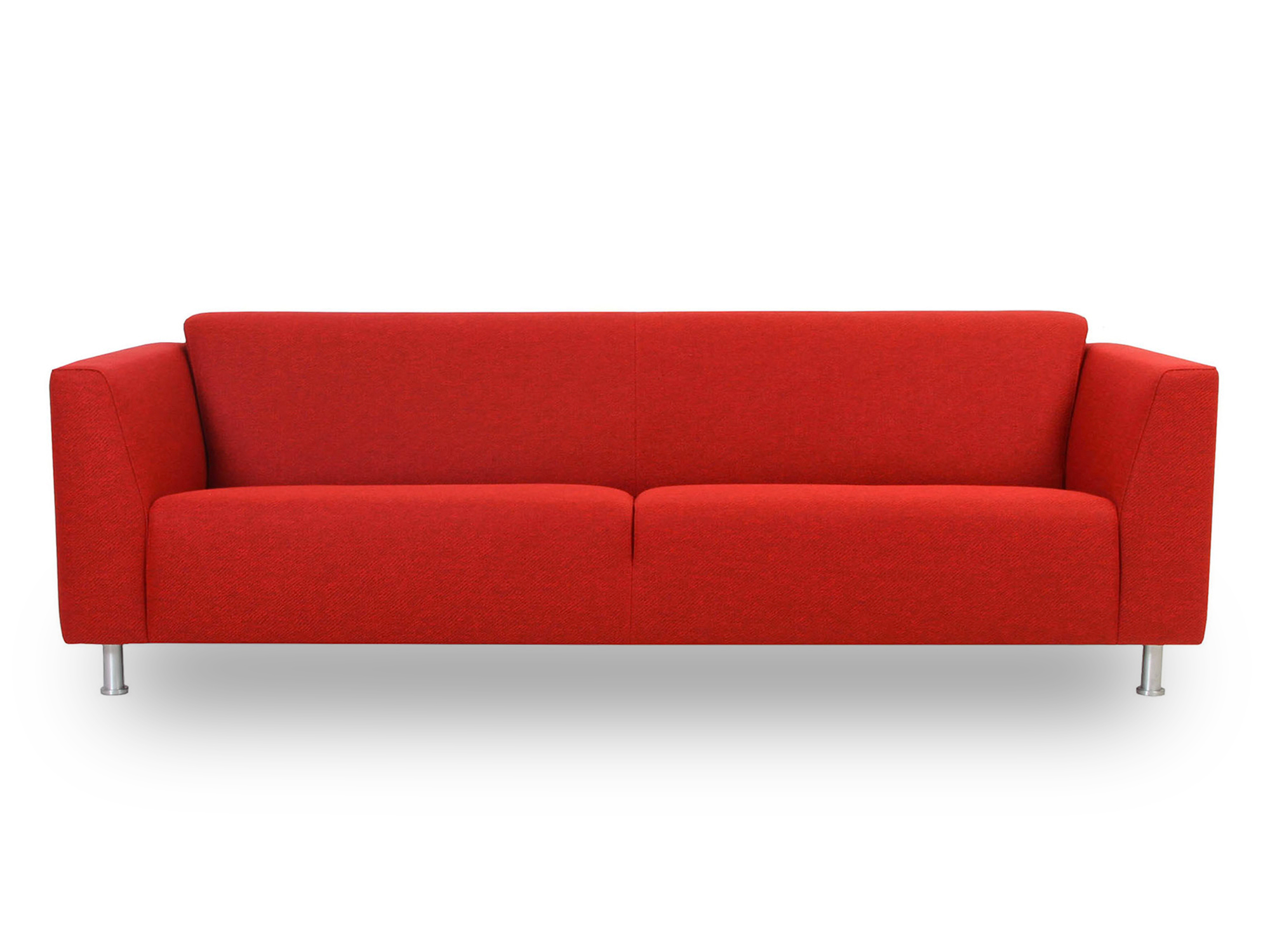Designbank rood donkeregaard