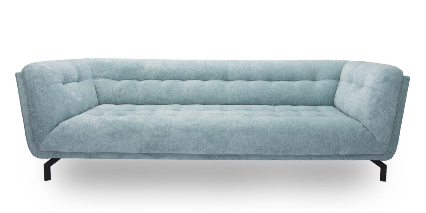 designbank koningslaan klassiek modern lichtblauw