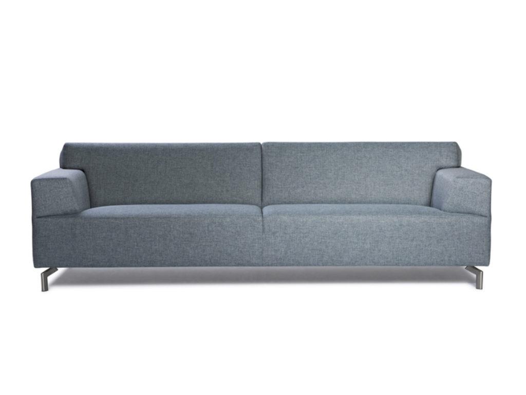 designbank servetstraat modern grijs