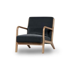Design fauteuil Mark scandinavische stijl grijsblauw