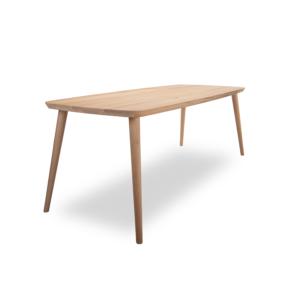 Eiken houten tafel scandinavisch design Iza