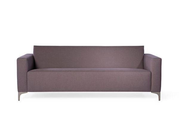 designbank minimalistisch mintstraat paars