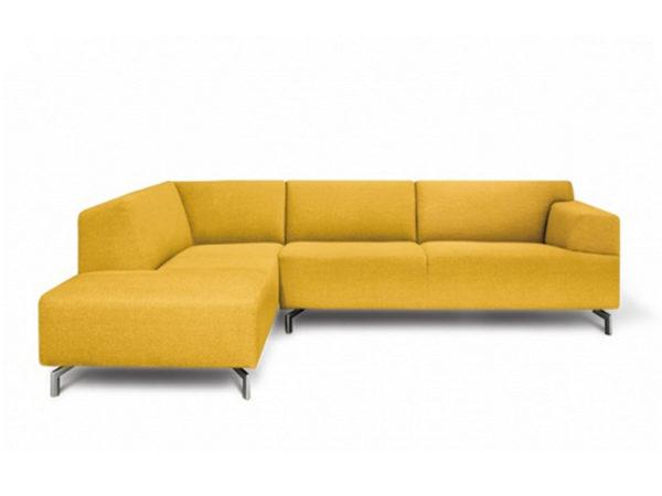 designbank servetstraat dormeuse geel hoekbank