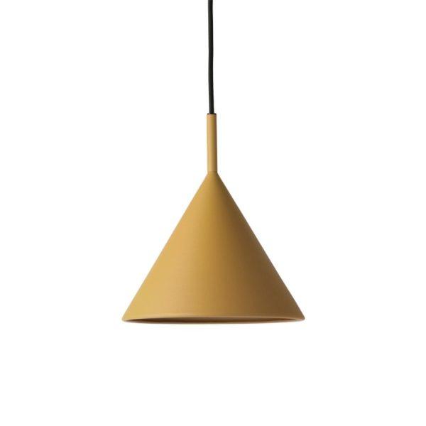 Hanglamp Triangle okergeel