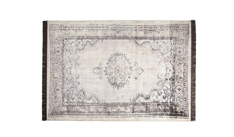 Vloerkleed marvel perzisch tapijt grijs