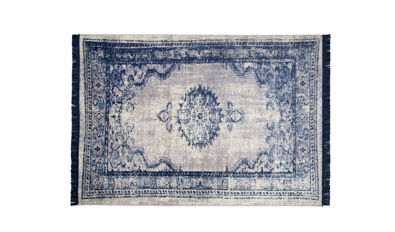 Vloerkleed marvel perzisch tapijt blauw