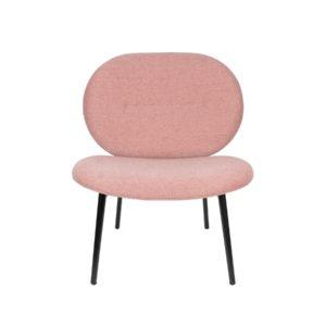 fauteuil spike roze