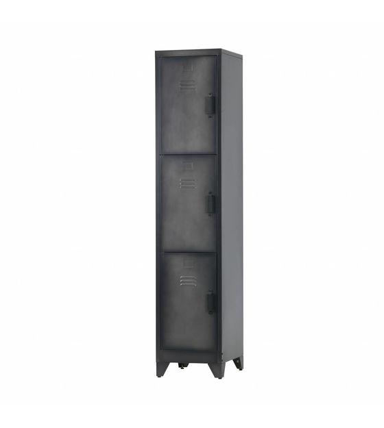 lef-collections-lockerkast-cas-3-deuren-zwart-meta